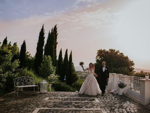 Il matrimonio di Marco e Francesca a Bassano Romano, Viterbo 85