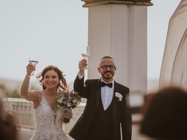 Il matrimonio di Marco e Francesca a Bassano Romano, Viterbo 86