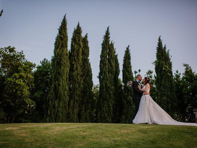 Il matrimonio di Marco e Francesca a Bassano Romano, Viterbo 94