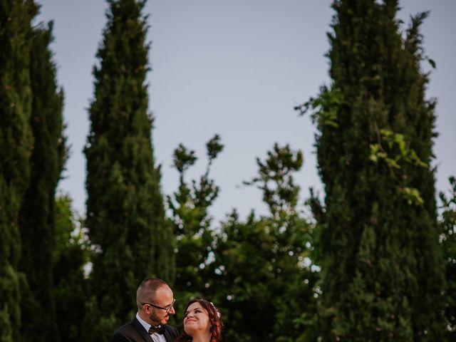 Il matrimonio di Marco e Francesca a Bassano Romano, Viterbo 95
