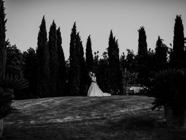 Il matrimonio di Marco e Francesca a Bassano Romano, Viterbo 96