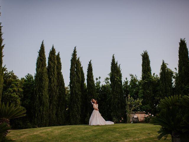 Il matrimonio di Marco e Francesca a Bassano Romano, Viterbo 1