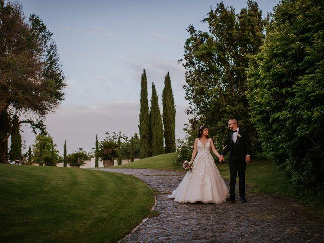 Il matrimonio di Marco e Francesca a Bassano Romano, Viterbo 97