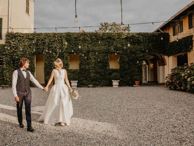 Il matrimonio di Marco e Federica a Santa Maria Hoè, Lecco 43