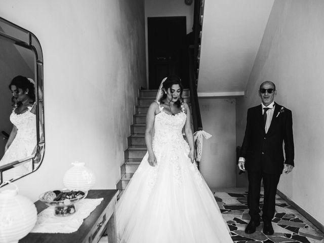 Il matrimonio di Niccolò e Virginia a Asciano, Siena 30