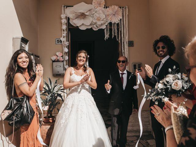 Il matrimonio di Niccolò e Virginia a Asciano, Siena 31