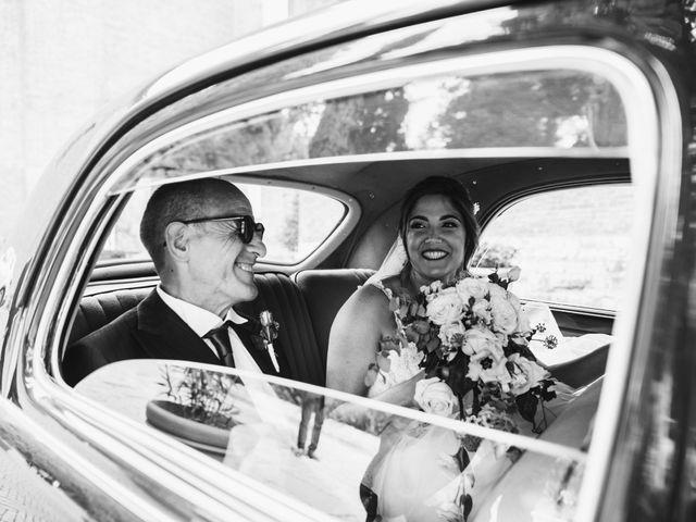 Il matrimonio di Niccolò e Virginia a Asciano, Siena 39