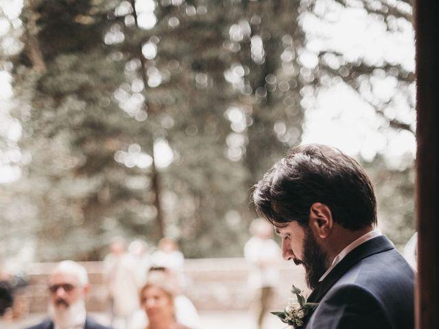Il matrimonio di Niccolò e Virginia a Asciano, Siena 40