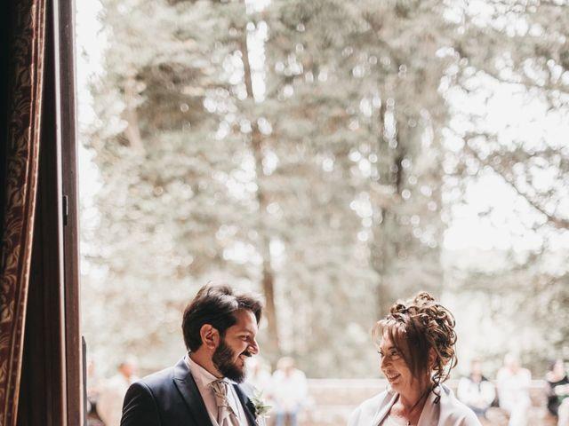 Il matrimonio di Niccolò e Virginia a Asciano, Siena 41