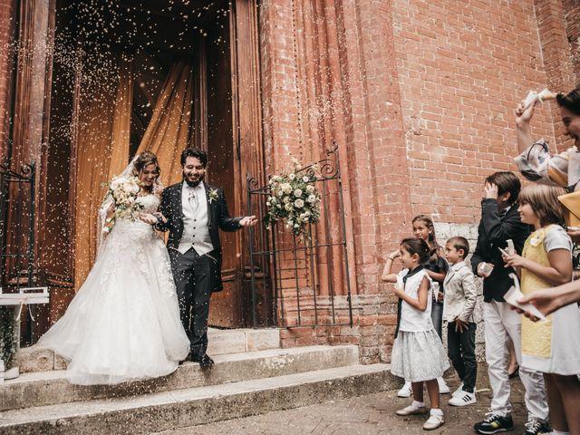Il matrimonio di Niccolò e Virginia a Asciano, Siena 79