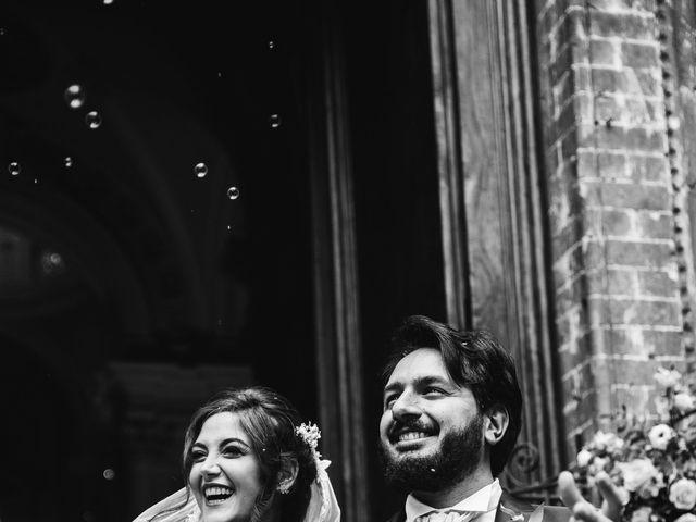 Il matrimonio di Niccolò e Virginia a Asciano, Siena 81