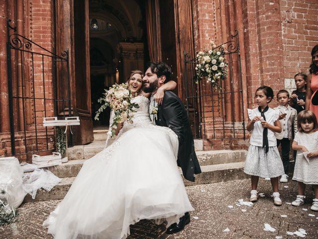 Il matrimonio di Niccolò e Virginia a Asciano, Siena 83