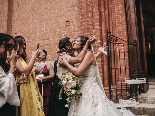 Il matrimonio di Niccolò e Virginia a Asciano, Siena 84