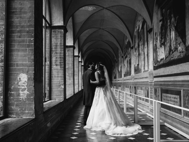 Il matrimonio di Niccolò e Virginia a Asciano, Siena 86