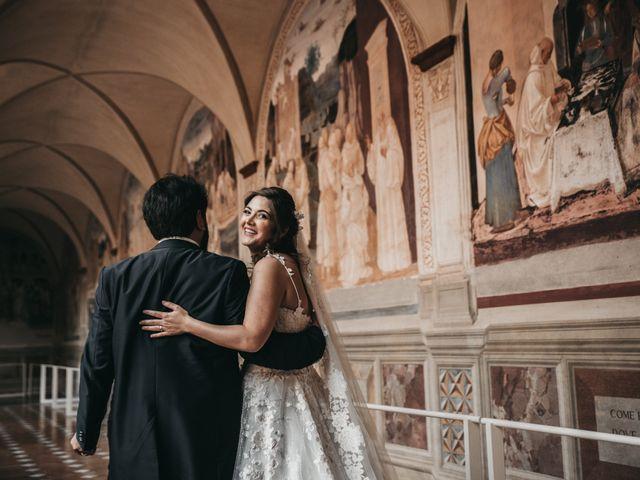 Il matrimonio di Niccolò e Virginia a Asciano, Siena 87