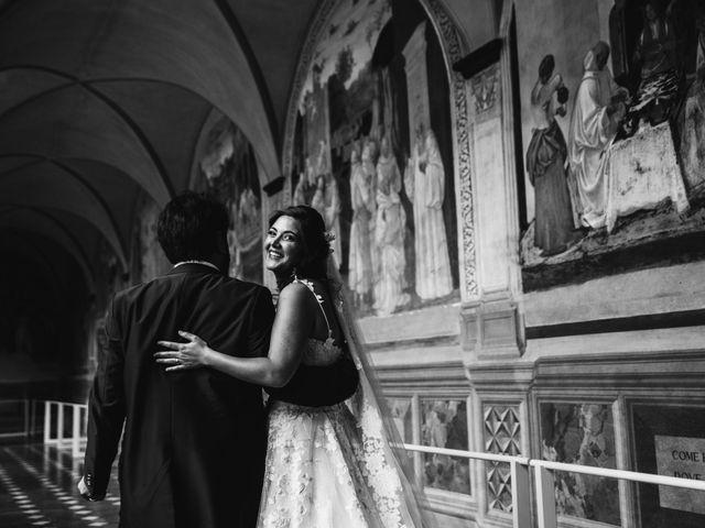 Il matrimonio di Niccolò e Virginia a Asciano, Siena 88