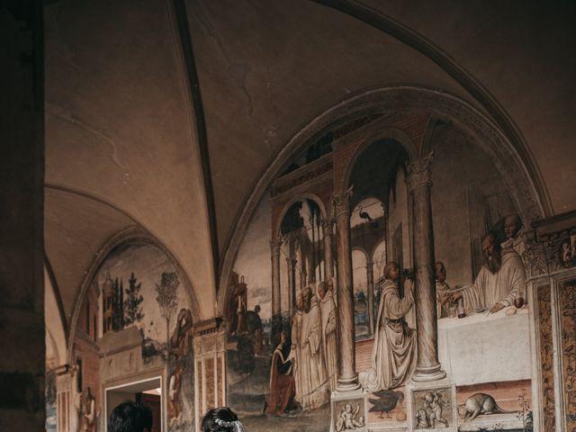 Il matrimonio di Niccolò e Virginia a Asciano, Siena 89