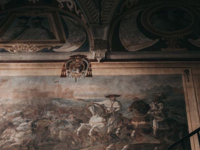 Il matrimonio di Niccolò e Virginia a Asciano, Siena 91