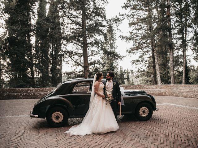 Il matrimonio di Niccolò e Virginia a Asciano, Siena 94