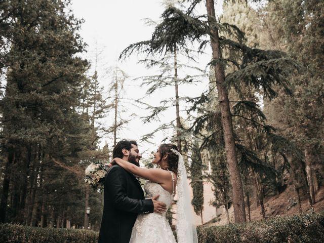 Il matrimonio di Niccolò e Virginia a Asciano, Siena 95