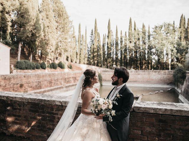 Il matrimonio di Niccolò e Virginia a Asciano, Siena 96