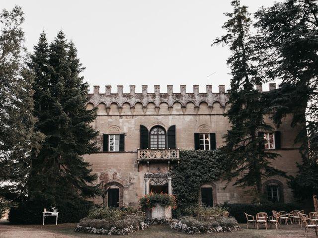 Il matrimonio di Niccolò e Virginia a Asciano, Siena 101