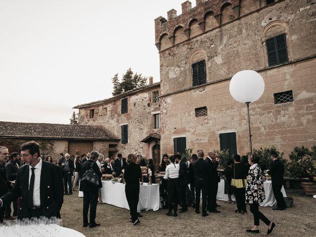 Il matrimonio di Niccolò e Virginia a Asciano, Siena 102