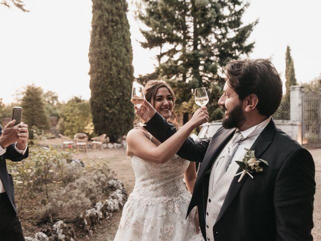 Il matrimonio di Niccolò e Virginia a Asciano, Siena 105