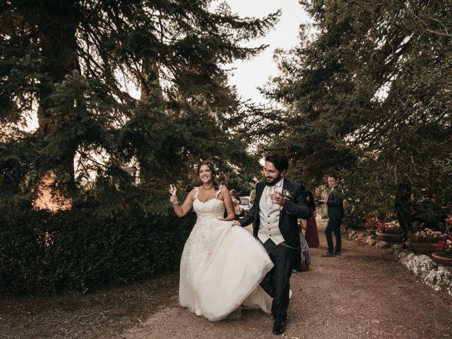 Il matrimonio di Niccolò e Virginia a Asciano, Siena 107