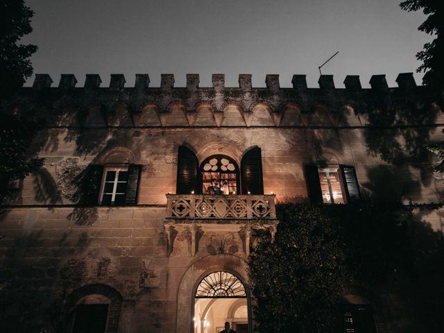 Il matrimonio di Niccolò e Virginia a Asciano, Siena 114