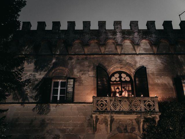 Il matrimonio di Niccolò e Virginia a Asciano, Siena 115