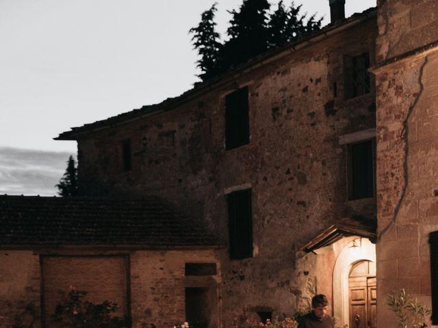Il matrimonio di Niccolò e Virginia a Asciano, Siena 116