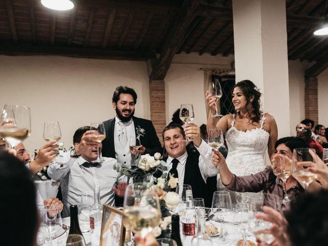 Il matrimonio di Niccolò e Virginia a Asciano, Siena 119