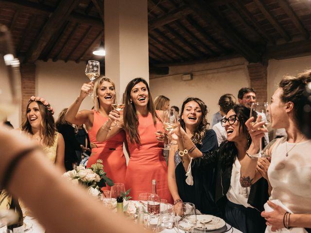 Il matrimonio di Niccolò e Virginia a Asciano, Siena 120