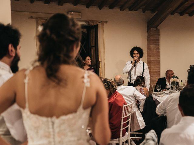 Il matrimonio di Niccolò e Virginia a Asciano, Siena 121