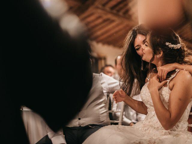 Il matrimonio di Niccolò e Virginia a Asciano, Siena 122