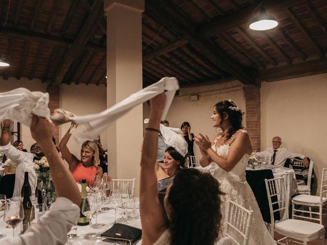 Il matrimonio di Niccolò e Virginia a Asciano, Siena 126