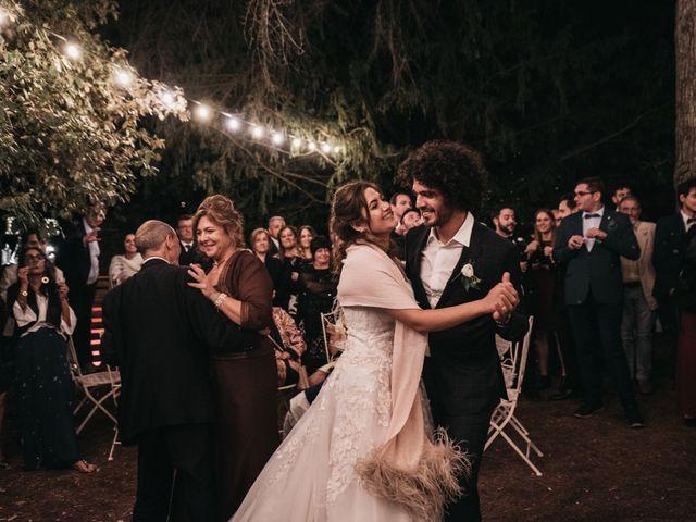 Il matrimonio di Niccolò e Virginia a Asciano, Siena 137