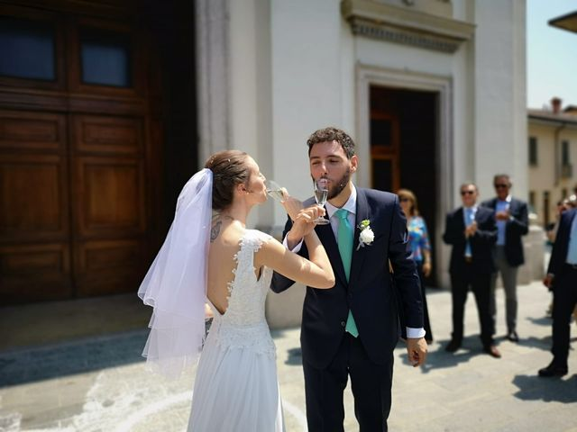 Il matrimonio di Andrea e Giulia a Robecco sul Naviglio, Milano 9