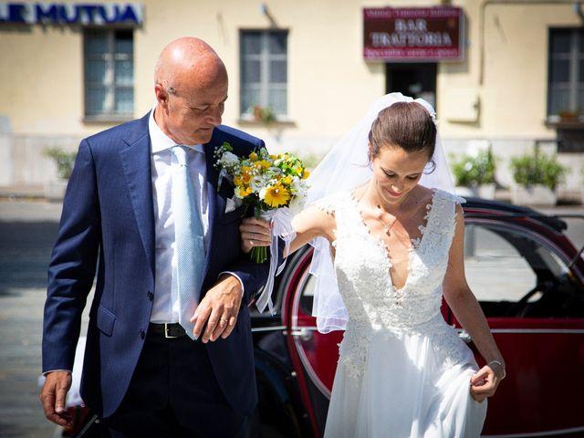 Il matrimonio di Andrea e Giulia a Robecco sul Naviglio, Milano 15