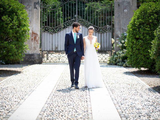 Il matrimonio di Andrea e Giulia a Robecco sul Naviglio, Milano 2