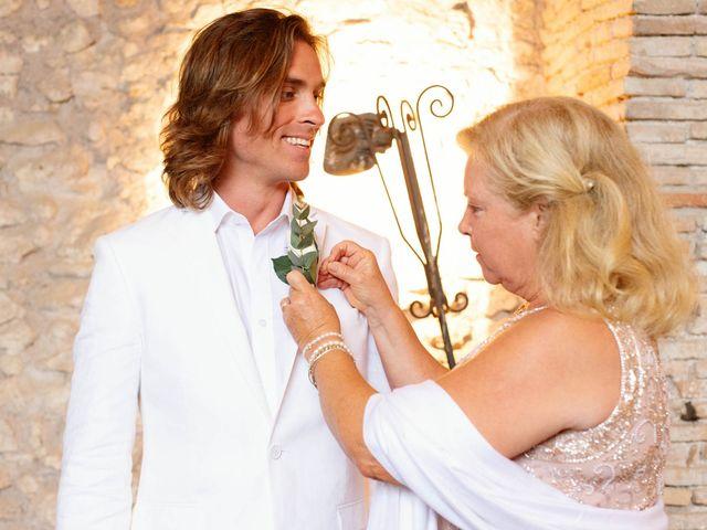 Il matrimonio di Kendra e Mark a Palombara Sabina, Roma 16