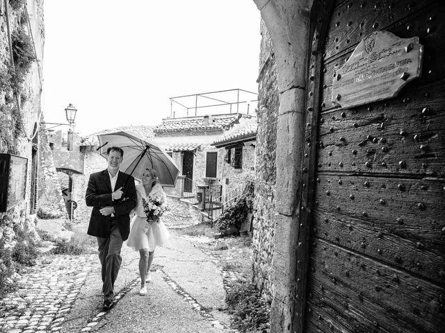 Il matrimonio di Kendra e Mark a Palombara Sabina, Roma 17