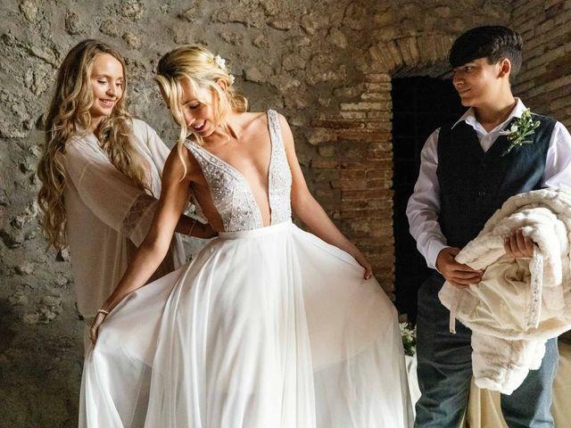 Il matrimonio di Kendra e Mark a Palombara Sabina, Roma 18