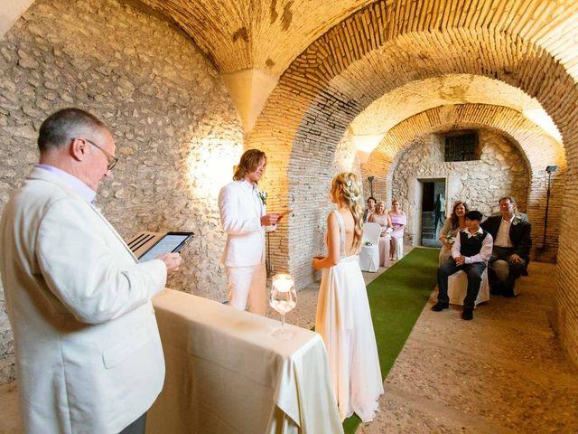 Il matrimonio di Kendra e Mark a Palombara Sabina, Roma 20