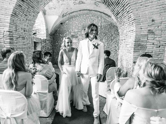 Il matrimonio di Kendra e Mark a Palombara Sabina, Roma 22