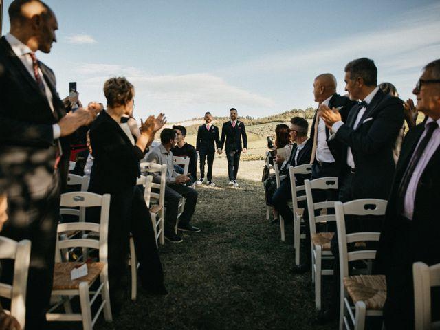 Il matrimonio di Danilo e Nicola a Predappio, Forlì-Cesena 1