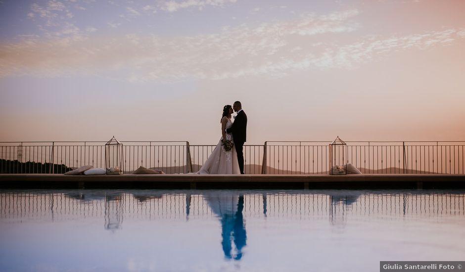 Il matrimonio di Marco e Francesca a Bassano Romano, Viterbo