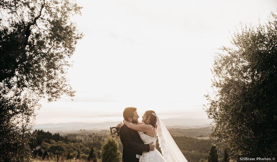 Il matrimonio di Niccolò e Virginia a Asciano, Siena
