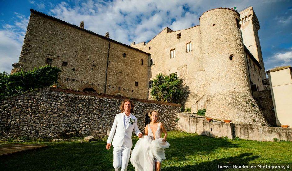 Il matrimonio di Kendra e Mark a Palombara Sabina, Roma